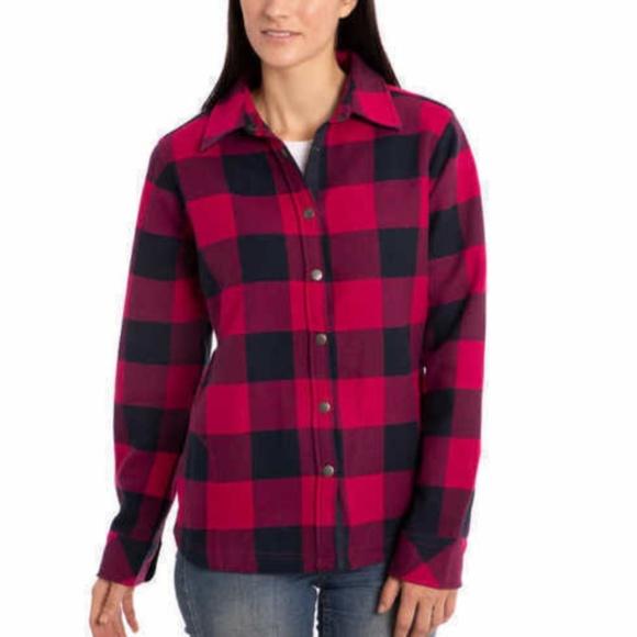 Orvis Jackets & Blazers - Orvis Ladies Fleece Lined Shirt Jacket